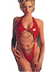Onexuan Women'S Sexy  Leather Lingerie One Piece  60878#