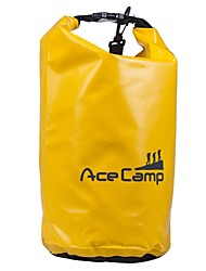 Outdoor Camping Waterproof Drift Dry Bag With Shoulder Strap 47x21cm 10L (Orange Yellow Blue Black)