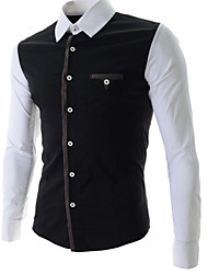 City Men's Casual Basic Fashion Soft Shirt