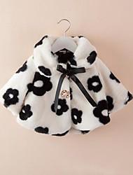 Girl's Cotton/Faux Fur Jacket & Coat , Winter/Fall Long Sleeve