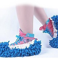 1P Mop Slipper Floor Polishing Cover Cleaner Dusting Cleaning Foot Feet Shoes
