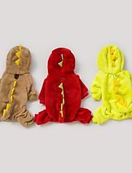 estilo dragão transformar roupas para animais de estimação (cães, tamanhos cores sortidas)