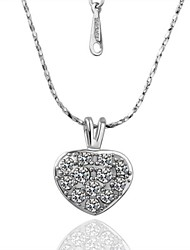 JMJ® Platinum Necklace With Pendant