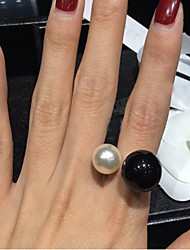 Ring Adjustable / Birthstones Wedding / Party / Daily / Casual Jewelry Alloy / Resin Women Statement RingsAdjustable