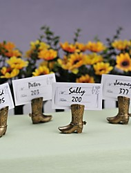 Place Cards and Holders Cowboy Boot Place Card (set of 4)