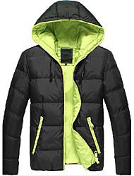 mannen comfortabele winter katoenen warme jas