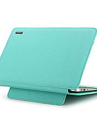 de cuero de 11 pulgadas manzana taikesen bolso de la caja de la manga suave del aire del macbook