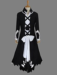 Inspired by Cosplay Cosplay Anime Cosplay Costumes Cosplay Suits Patchwork Long Sleeve Coat / Top / Hakama pants / Gloves / Belt