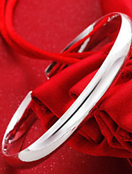 weimei Frauen elegante Einfachheit Glasur Silber Armband