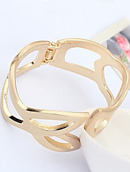 Miss European Exaggerate Gold Bracelet