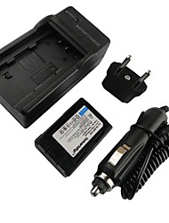 Ismartdigi-Samsung BP210E (2100mAh,3.7V)Camera Battery+EU Plug+Car Charger For Samsung HMX-H200 204 205 S10 S16 F44 F40
