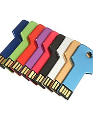 2gb usb stile chiave flash drive (colori assortiti)