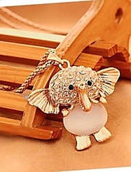 Jewelry Pendant Necklaces Wedding / Party / Daily / Casual Gold Plated Women Gold Wedding Gifts