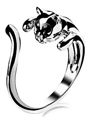 Ring Wedding / Party / Daily / Casual / Sports Jewelry Alloy Women Statement Rings8 Silver