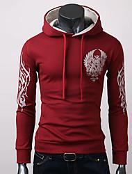 GRG Männer koreanische Hoodie Gegensatz Pullover