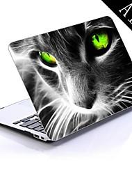 colorido gato projeto fresco de corpo inteiro caixa de plástico de proteção para 11 polegadas / 13 polegadas novo Mac Book Air
