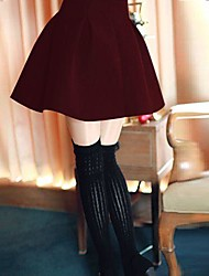 Women's High Waist Puff Pleats Skirt (More Colors)
