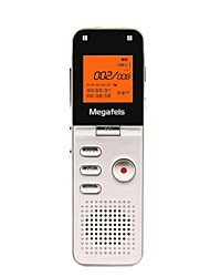Megafeis 8GB 50M Long Distance Professional Digital Voice Recorder/PCM MP3/DSP/Time Stamp/One Key Recording