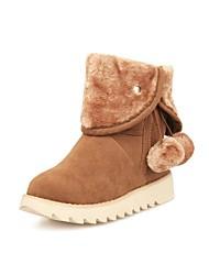 botas zapatos de nieve de las mujeres botas bajas tobillo del talón / media pierna (dos formas disponibles)