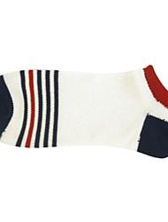 3 paia di calzini di cotone banda