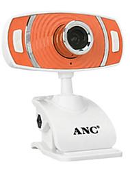 Aoni 12 megapixel mini webcam con microfono incorporato