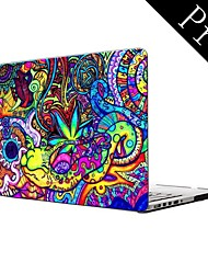 """Teste padrão colorido de corpo inteiro caixa de plástico protetora para MacBook Pro 13 """"/ 15"""" (não-retina)"""