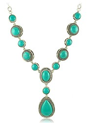 Big Personality Resin Droplets Alloy Long Necklace (More Colors)