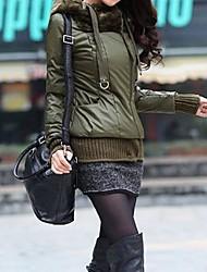Women PU Outerwear