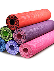 6MM TPE Solid Color Fitness Yoga Mat