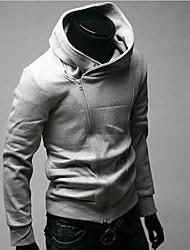 Manlodi Men's Stand Collar Slim-Fitting Pullover