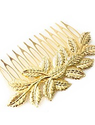 Vintage Gold Leaf Hair Comb Hair Jewelry Hair Accessires Head Jewelry