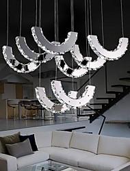 luzes pingente 8 luz moderno simples artística