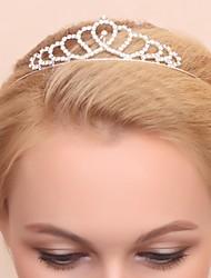Women's/Flower Girl's Alloy/Cubic Zirconia Headpiece - Wedding/Special Occasion Tiaras