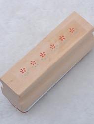 longue timbre en bois (de fleur)