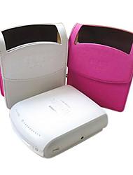 Singer-Schulter PU-Leder Minikameratasche für Fujifilm Instax Anteil SP-1 checkyciao (pink / weiß)