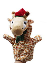 Christmas Giraffe Large-sized Hand Puppets Toys