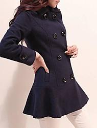 женская тонкий равнина склонны молнию куртки