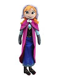 princesa de pelúcia boneca brilho pelúcia macia de 21 polegadas