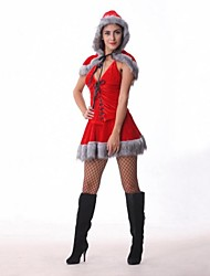 Christmas Little Red Riding Hood Adult Halloween Woman's Costume