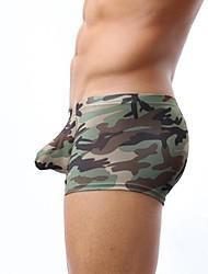 homens boxer cuecas camuflagem cueca