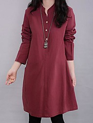Maternity Mock Neck Loose Dress (More Colors)