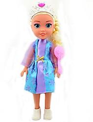 vocal princesa Elsa brilho boneca de 14 polegadas