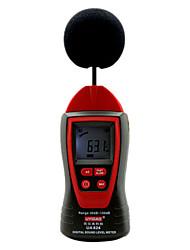 ua824 fonometro 30 ~ 130 dB ± 1 .5db 31 .5hz ~ 8 kHz 0 .1db