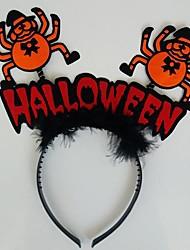 lureme Halloween araignée de bande dessinée maquillage bande de tête du parti