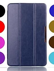 oso ™ caso tímido soporte de la cubierta de cuero imán de 8 pulgadas para lg Gpad g tablet V480 pad