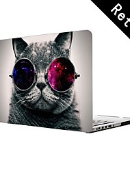 "Cool Cat Design Full-Body Protective Plastic Case for 13""/15"" MacBook-Pro with Retina Display"