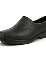 Men's Shoes Casual Rubber Loafers Black