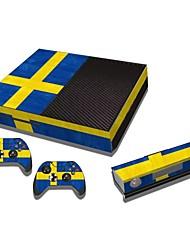 b-skin® xbox une console autocollant couverture d'autocollant de protection de la peau du contrôleur de la peau