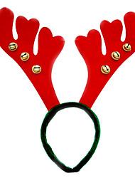 Acessórios do partido Acessório para Fantasia Natal Não-Personalizado Vermelho