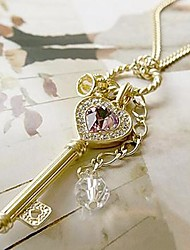 Lucky Doll Gold Key Necklace